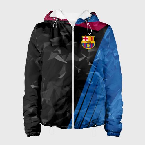 Женская куртка 3D FC BARCELONA
