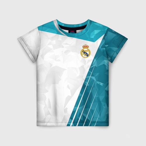 Детская футболка 3D Real Madrid 2018 Abstract
