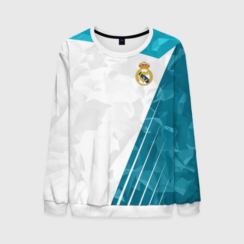 Мужской свитшот 3D Real Madrid 2018 Abstract