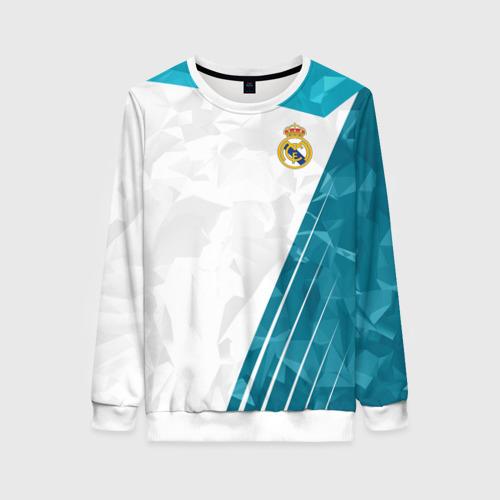 Женский свитшот 3D Real Madrid 2018 Abstract