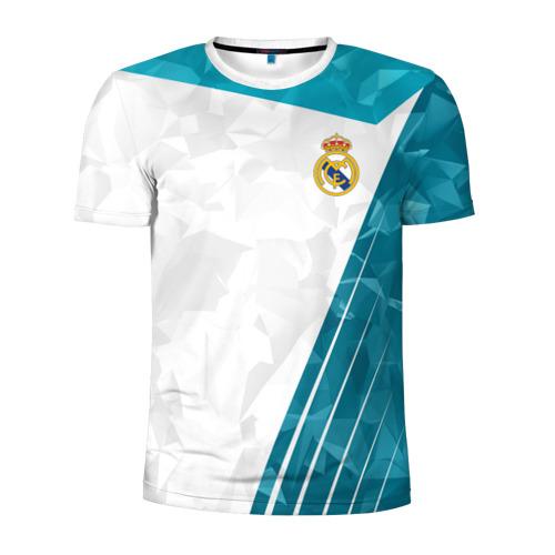 Мужская футболка 3D спортивная РЕАЛ МАДРИД | REAL MADRID