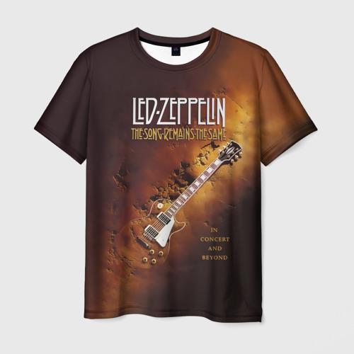 Мужская футболка 3D Led Zeppelin