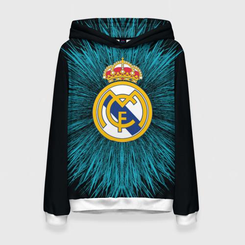 Женская толстовка 3D Real Madrid 2018 Abstract