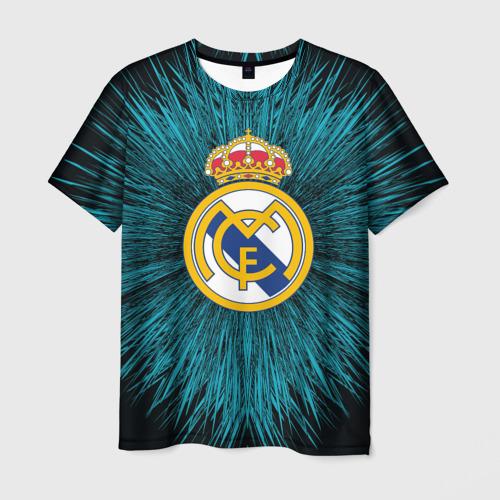 Мужская футболка 3D Real Madrid 2018 Abstract