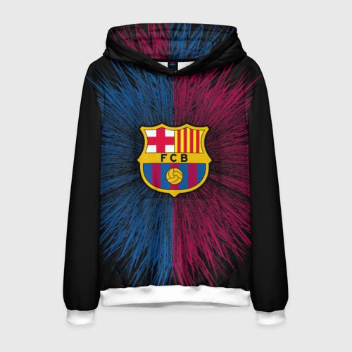 Мужская толстовка 3D FC Barca 2018 Creative uniform