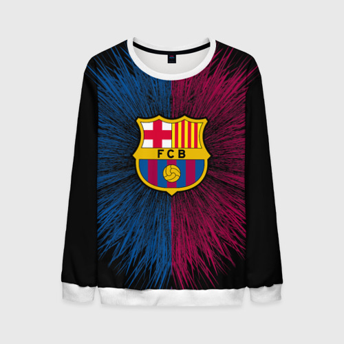 Мужской свитшот 3D FC Barca 2018 Creative uniform