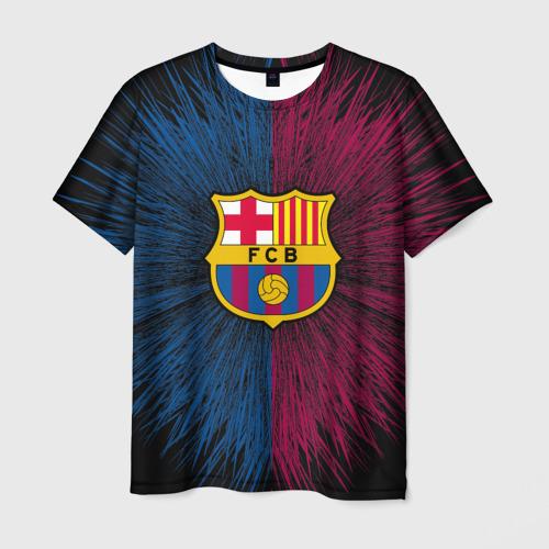 Мужская футболка 3D FC Barca 2018 Creative uniform