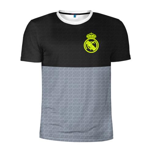 Мужская футболка 3D спортивная Real Madrid 2018 Toxic Sport