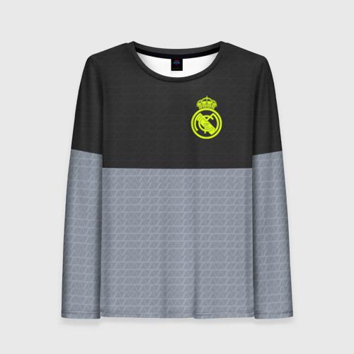 Женский лонгслив 3D Real Madrid 2018 Toxic Sport