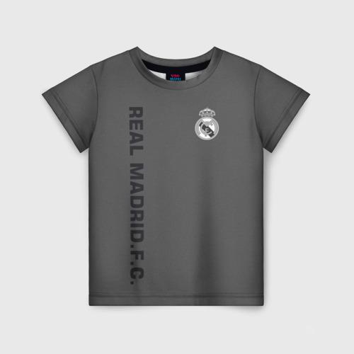 Детская футболка 3D Real Madrid 2018 Vintage