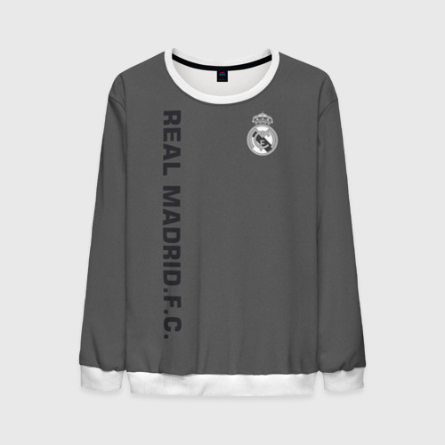 Мужской свитшот 3D Real Madrid 2018 Vintage