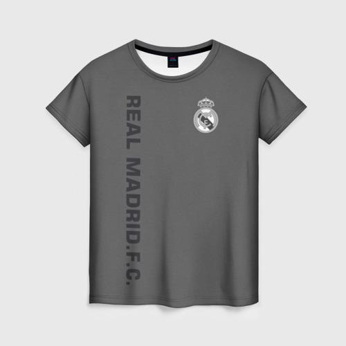 Женская футболка 3D Real Madrid 2018 Vintage
