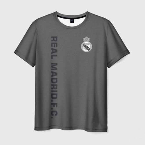 Мужская футболка 3D Real Madrid 2018 Vintage