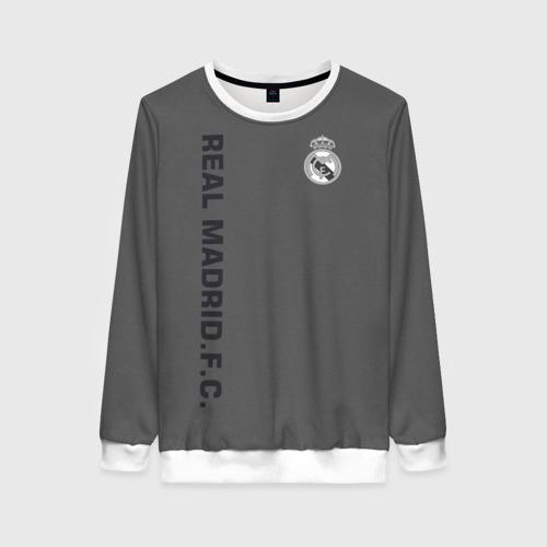 Женский свитшот 3D Real Madrid 2018 Vintage