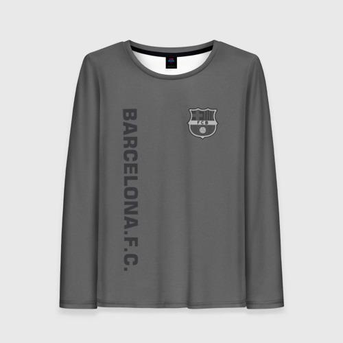 Женский лонгслив 3D FC Barca 2018 Vintage