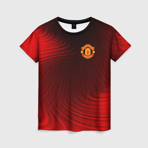 Женская футболка 3D F.C.M.U 2018 Creative Uniform