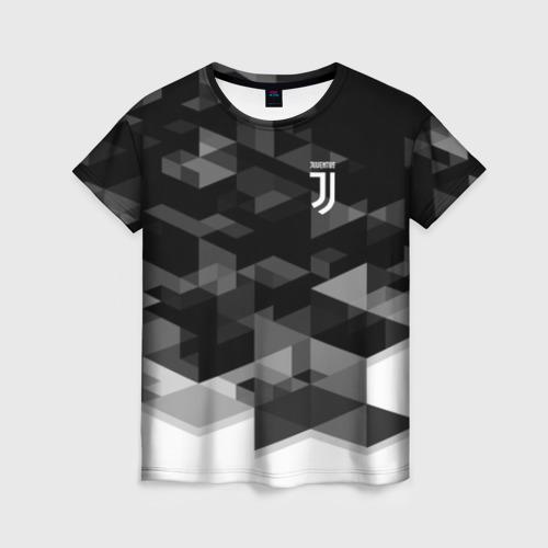 Женская футболка 3D JUVENTUS GEOMETRY SPORT