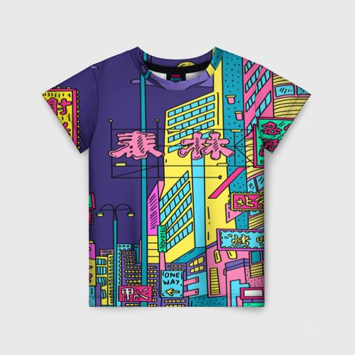 Детская футболка 3D Токио