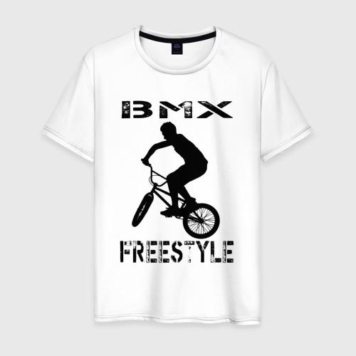 Мужская футболка хлопок BMX FreeStyle