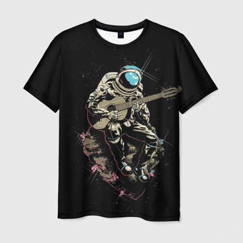 Мужская футболка 3D Rock косманафт