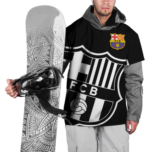 Накидка на куртку 3D Барселона