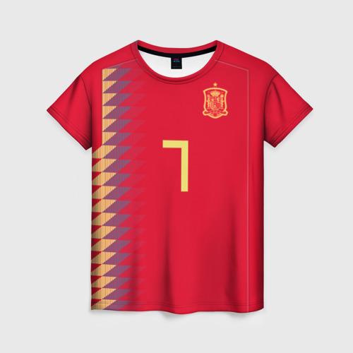 Женская футболка 3D Мората ЧМ 2018