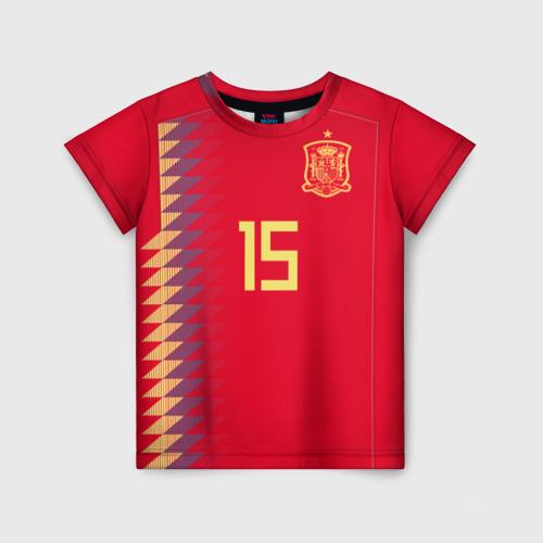 Детская футболка 3D Рамос ЧМ 2018