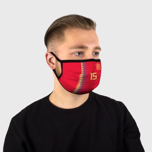 Маска защитная (+5 фильтров) Рамос ЧМ 2018