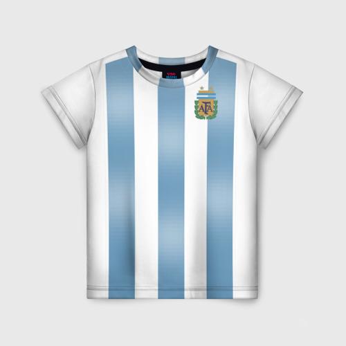 Детская футболка 3D Аргентина ЧМ 2018