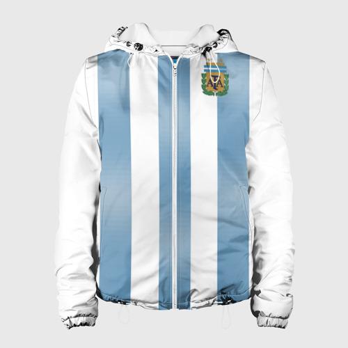 Женская куртка 3D Аргентина ЧМ 2018