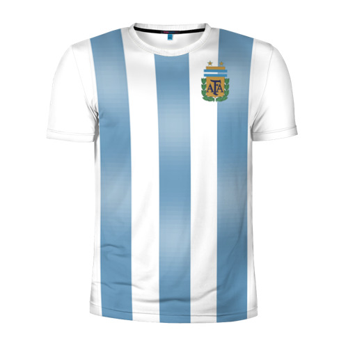 Мужская футболка 3D спортивная Аргентина ЧМ 2018