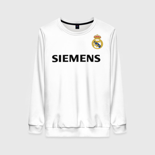 Женский свитшот 3D Zidane ретро