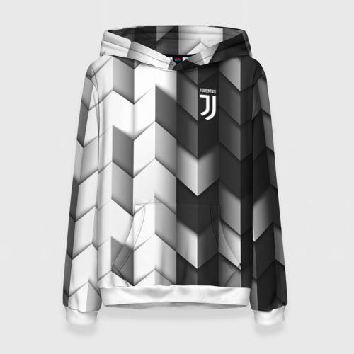 Женская толстовка 3D Juventus 2018 Geometry Sport