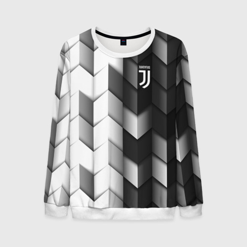 Мужской свитшот 3D Juventus 2018 Geometry Sport