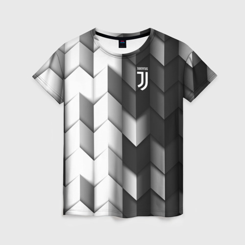 Женская футболка 3D Juventus 2018 Geometry Sport