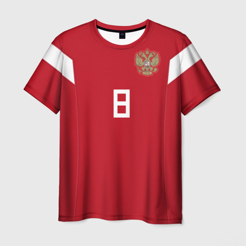 Мужская футболка 3D Глушаков ЧМ 2018