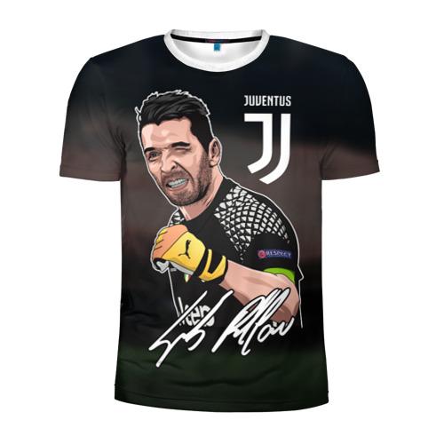 Мужская футболка 3D спортивная Джанлуиджи Буффон