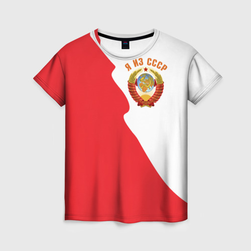 Женская футболка 3D Я из СССР