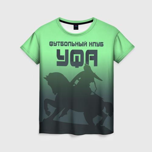 Женская футболка 3D ФК УФА 2