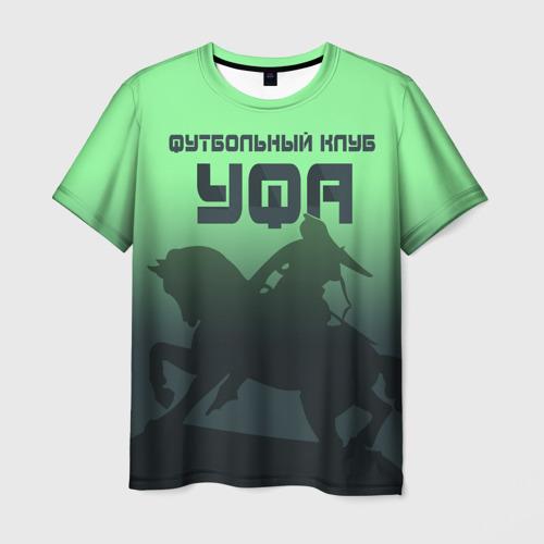 Мужская футболка 3D ФК УФА 2