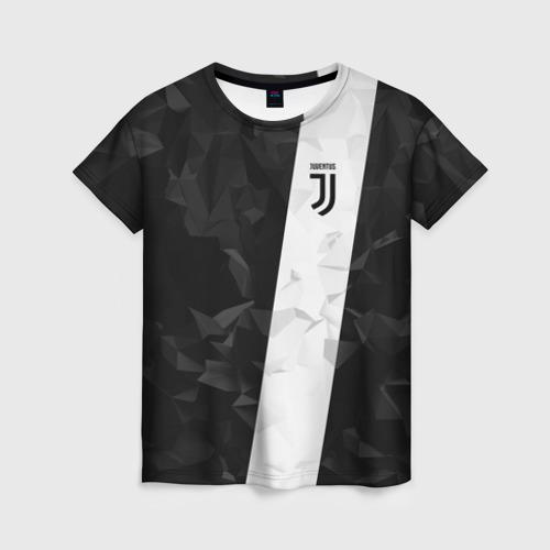 Женская футболка 3D Juventus 2018 Line