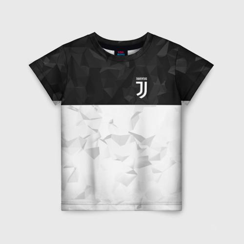 Детская футболка 3D Juventus 2018 Black and White