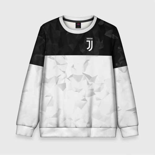 Детский свитшот 3D Juventus 2018 Black and White