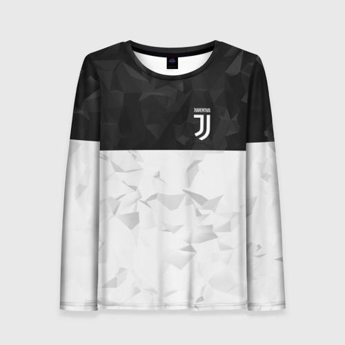 Женский лонгслив 3D Juventus 2018 Black and White