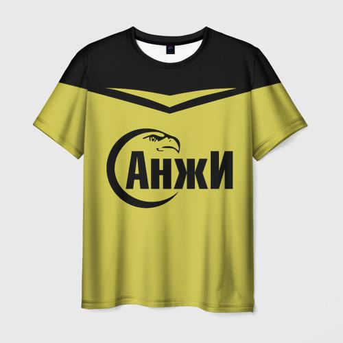 Мужская футболка 3D Анжи Махачкала