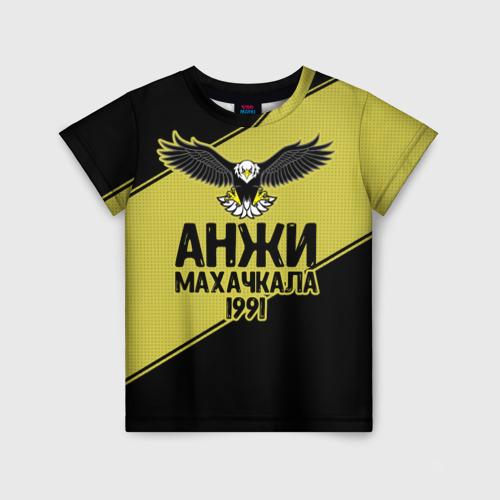 Детская футболка 3D Анжи Махачкала 2