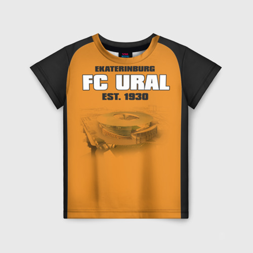 Детская футболка 3D Урал 2