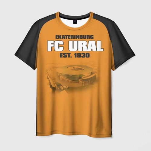 Мужская футболка 3D Урал 2
