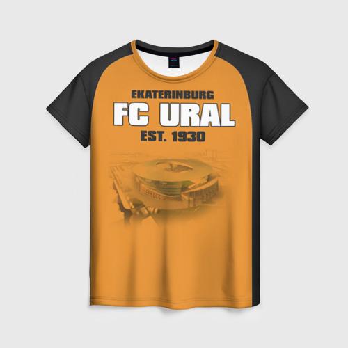Женская футболка 3D Урал 2