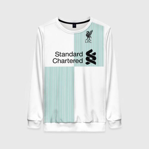 Женский свитшот 3D Liverpool alternative 17-18